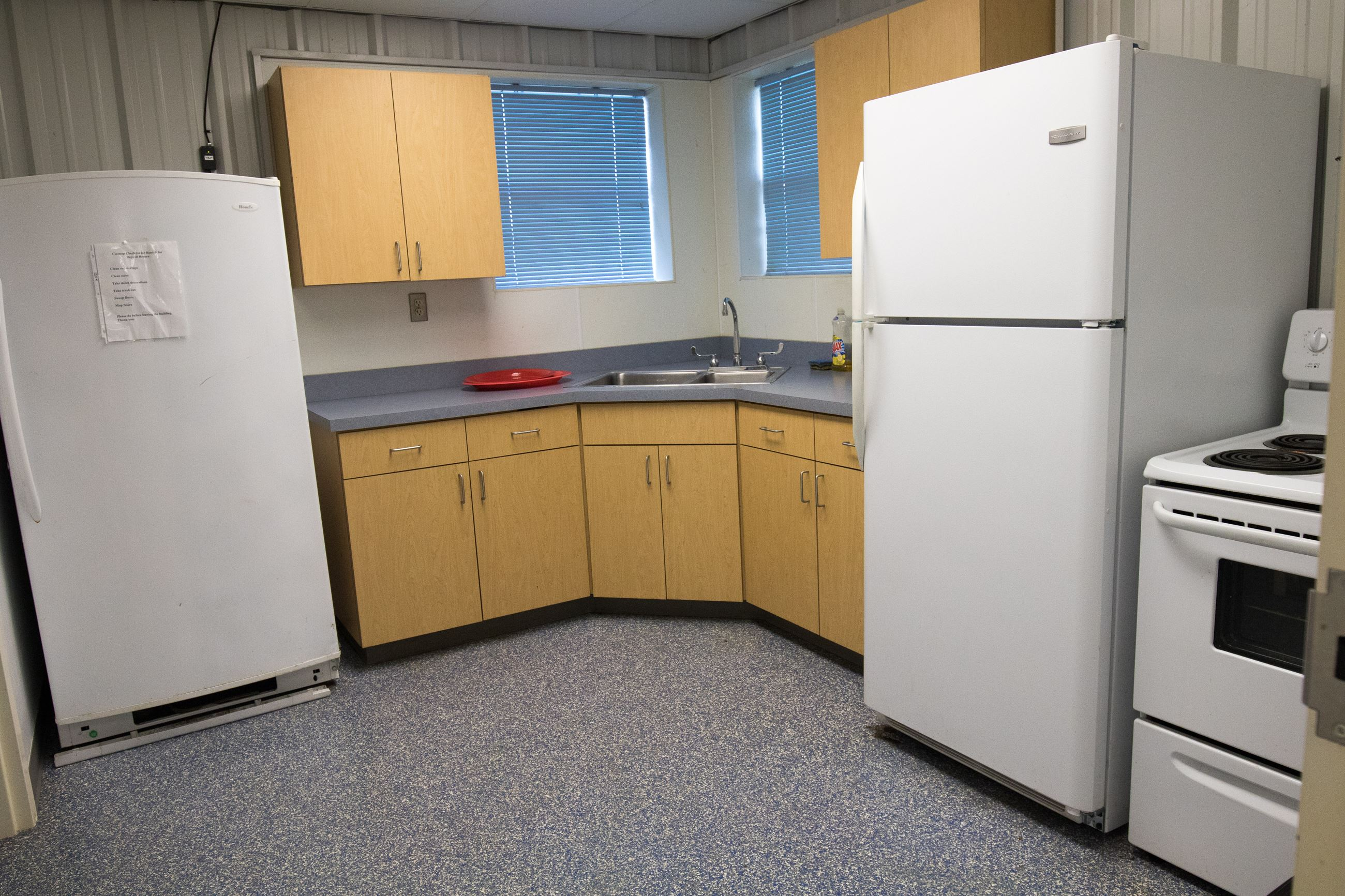Ron Stevenson Building Kitchen