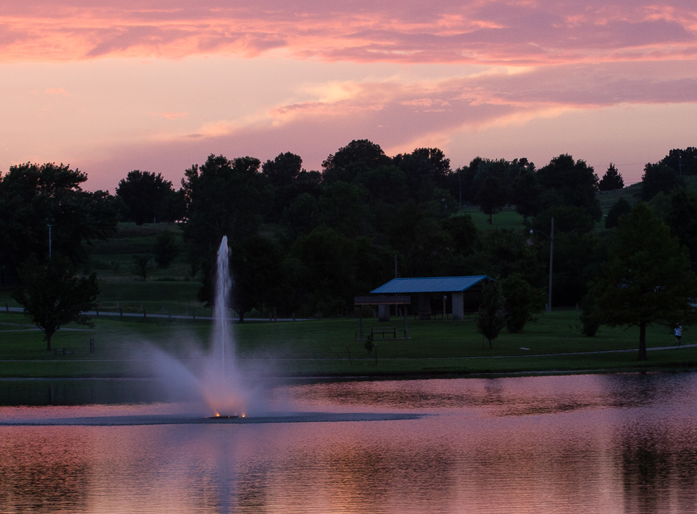 Fountain - LeClere Lake