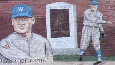 Walter Johnson Mural